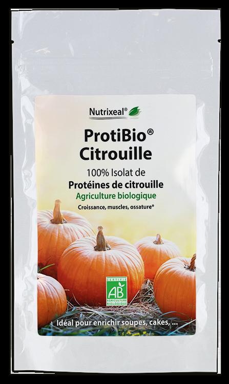ProtiBIO Citrouille : protéines de citrouille BIO* Nutrixeal