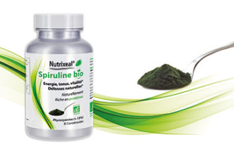 Produit Spiruline BIO Nutrixeal